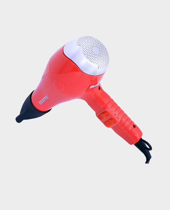 Geepas GH8078 Personal Care Hair Dryer Red