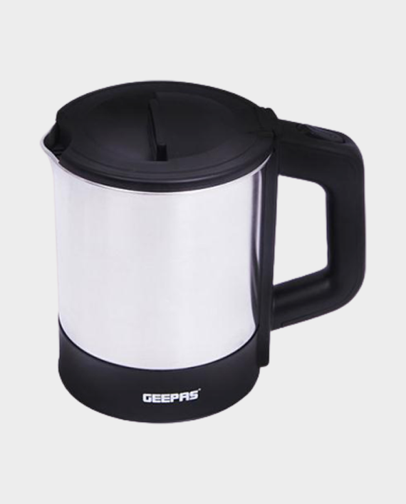 Geepas GK5418 1 Litre Stainless Steel Electric Kettle in Qatar
