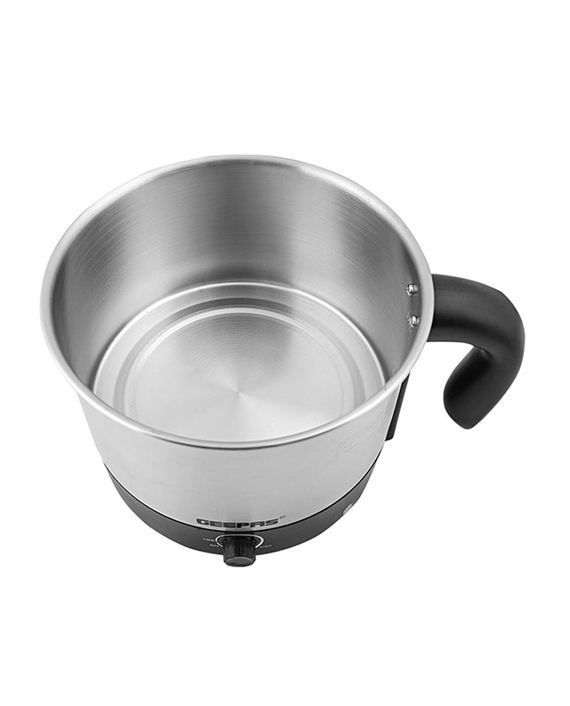 Geepas GK5462 1.2L Multifunctional Electric Kettle Silver