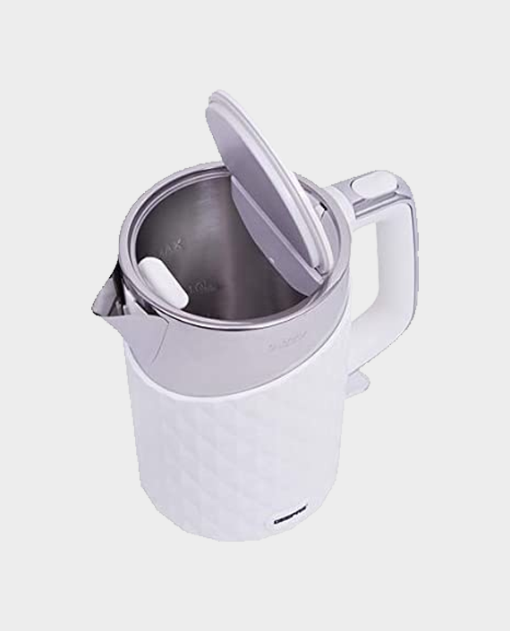 Geepas GK6141 1.7L Stainless Steel Double Layer Kettle