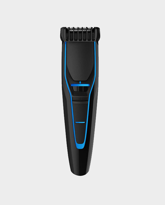 Geepas GTR56011 Cordless Stubble Trimmer For Men Black/Blue in Qatar
