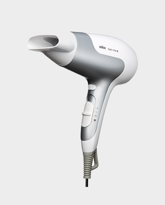 Braun HD580 Satin Hair 5 PowerPerfection Dryer with Ionic Function and Styling Nozzle