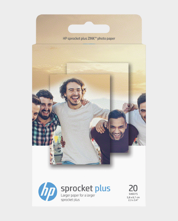 HP 2LY74A Zink Photo Paper 20 Sheets in Qatar