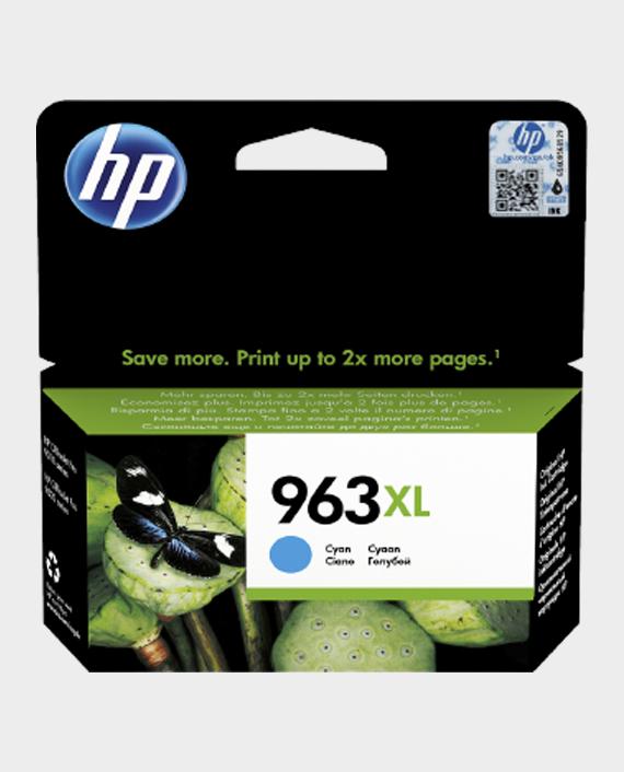 HP 3JA27AE 963XL High Yield Original Ink Cartridge Cyan in Qatar