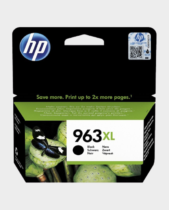 HP 3JA30AE 963XL High Yield Original Ink Cartridge Black in Qatar