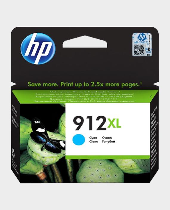 HP 3YL81AE 912XL High Yield Original Ink Cartridge Cyan in Qatar