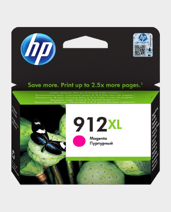 HP 3YL82AE 912XL High Yield Original Ink Cartridge Magenta in Qatar