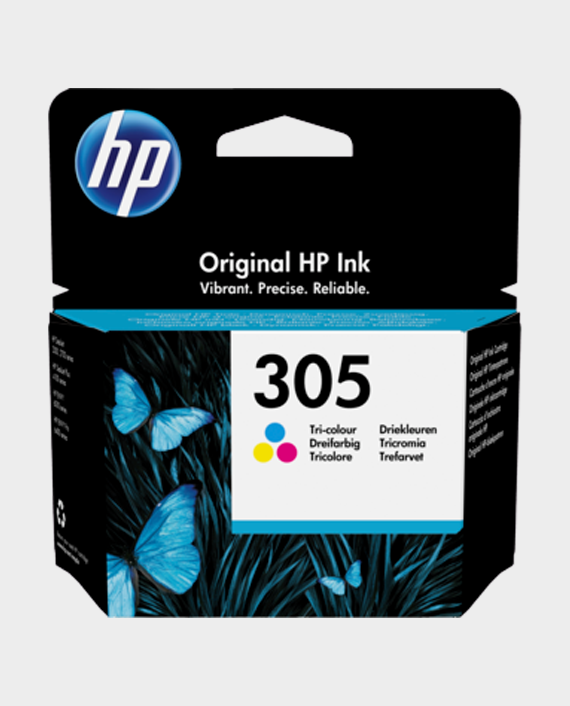 HP 3YM60AE 305 Original Ink Cartridge Tri-color in Qatar
