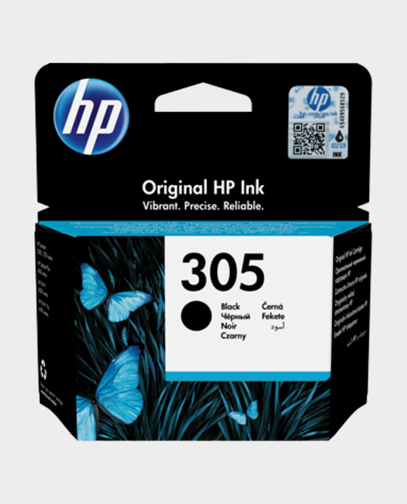 HP 3YM61AE 305 Original Ink Cartridge Black in Qatar
