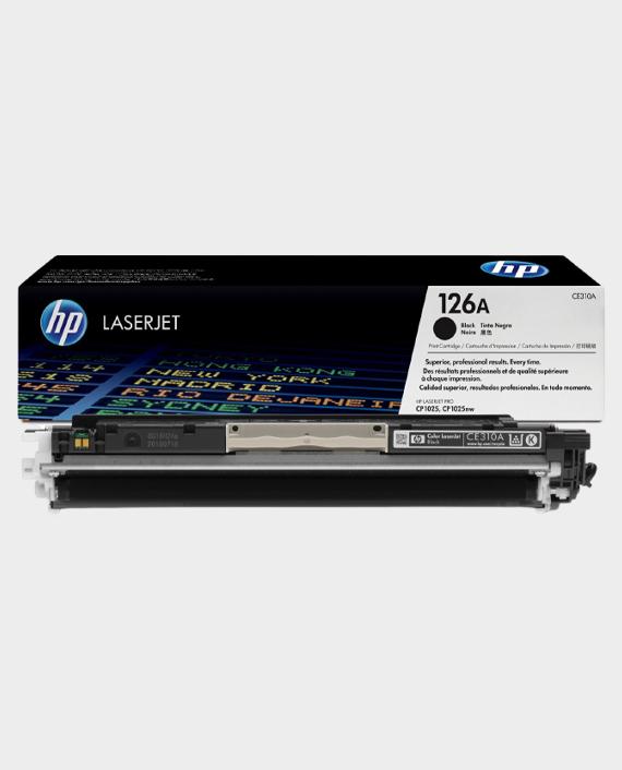 HP CE310A 126A Original LaserJet Toner Cartridge Black in Qatar