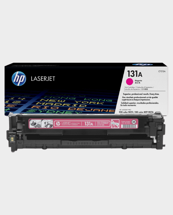 HP CF213A 131A Original LaserJet Toner Cartridge Magenta in Qatar