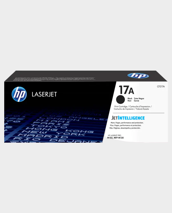 HP CF217A 17A Original LaserJet Toner Cartridge Black in Qatar
