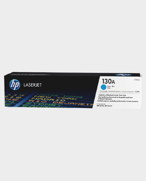 HP CF351A 130A Original LaserJet Toner Cartridge Cyan in Qatar