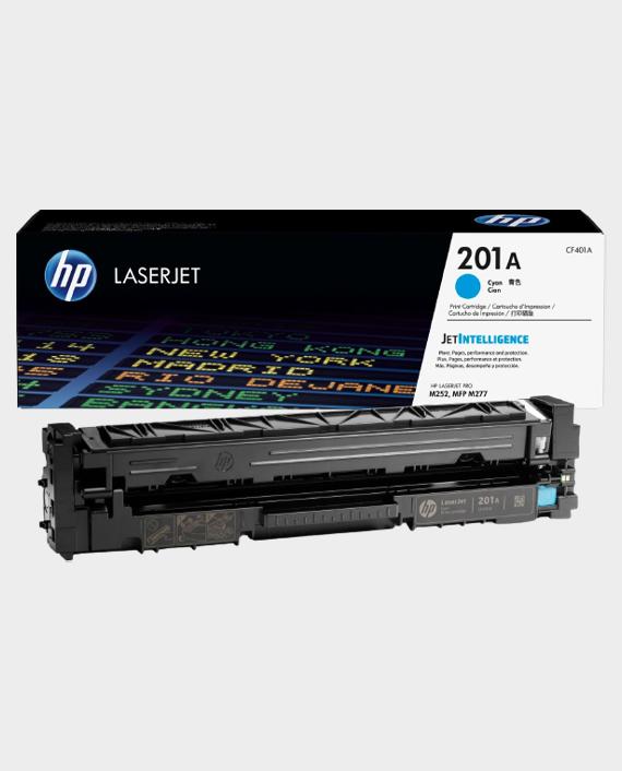 HP CF401A 201A Original LaserJet Toner Cartridge Cyan in Qatar
