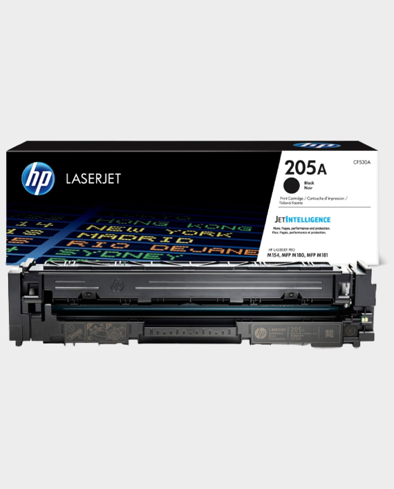 HP CF530A 205A Original LaserJet Toner Cartridge Black in Qatar