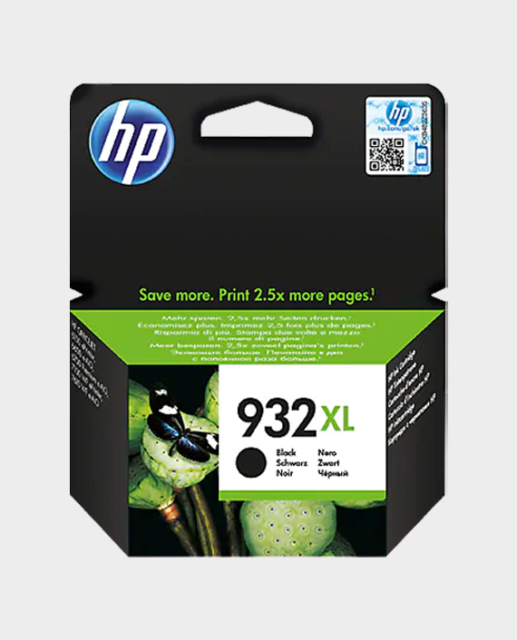 HP CN053AE 932XL High Yield Original Ink Cartridge Black in Qatar