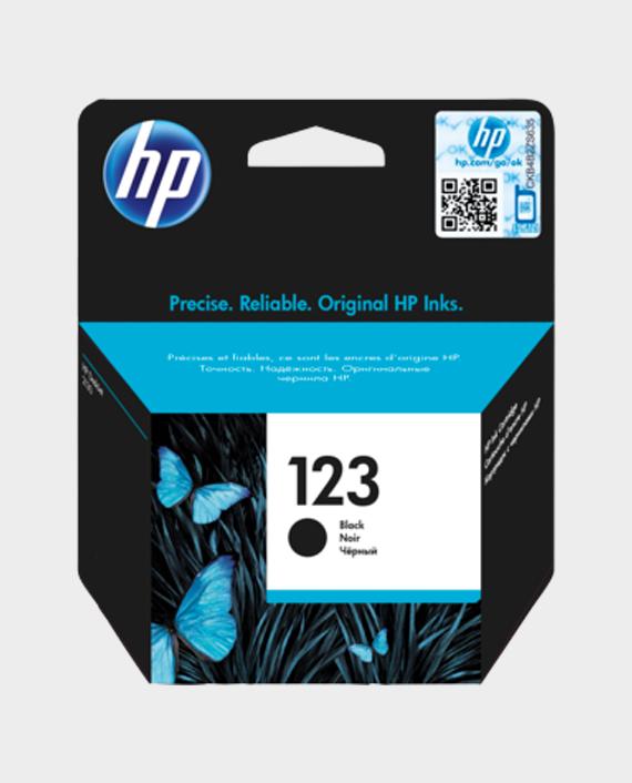 HP F6V17AE 123 Original Ink Cartridge Black in Qatar