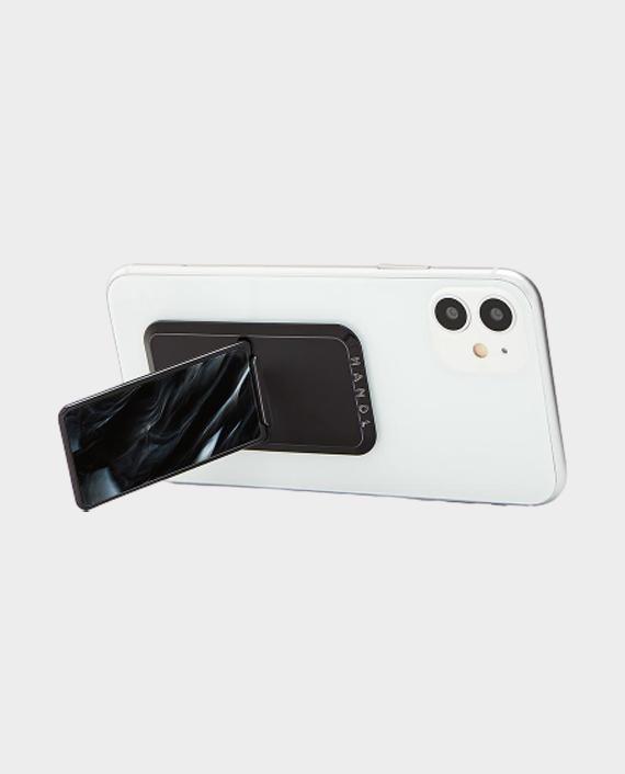 Handl Stick Luxe Marble Phone Grip - Black