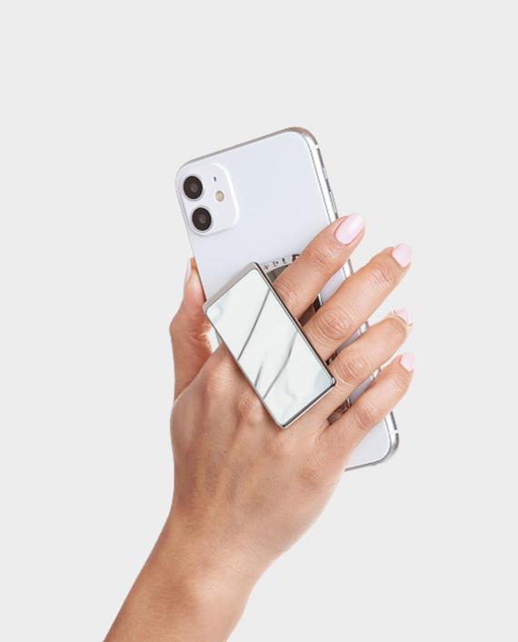Handl Stick Luxe Marble Phone Grip White in Qatar
