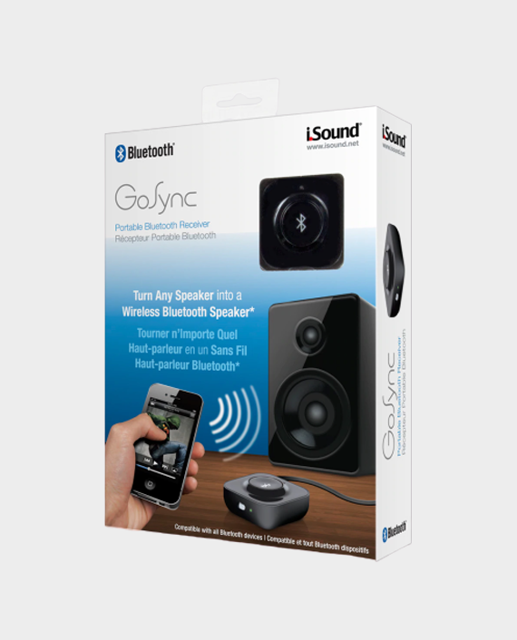 I Sound 5212 Go Sync Portable Bluetooth Reciever