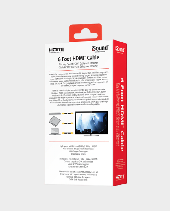 I Sound 6815 15ft High Speed HDMI Cable