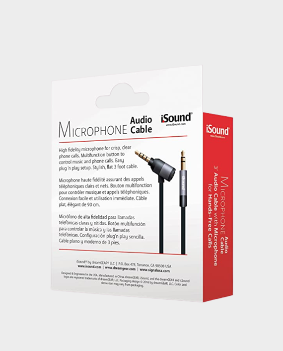 I Sound 6864 90cm Microphone Audio Cable