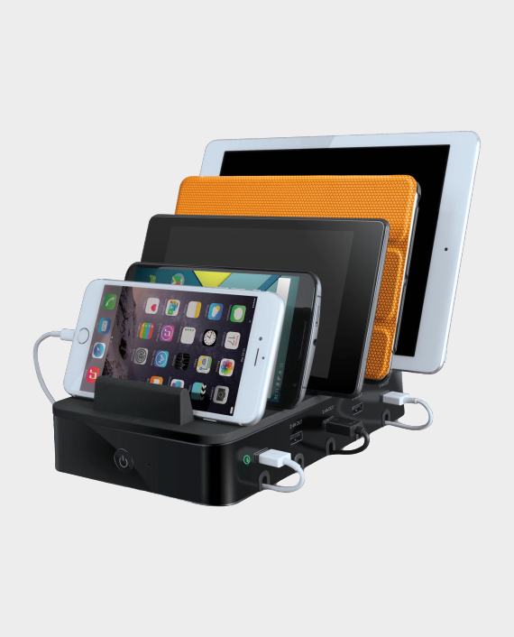 I Sound SIG-8060 Power 5 USB Charging Dock with Quick Charge in Qatar