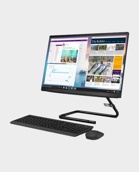 Lenovo Idea Center AIO340-22IWL / F0EB00FBAX / i3-10110U / 4GB RAM / 1TB HDD / 21.5 Inch FHD Touch / Win 10 Home - Black