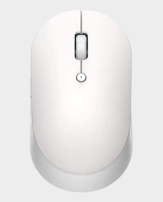 Xiaomi Mi Dual Mode Wireless Mouse Silent Edition White in Qatar