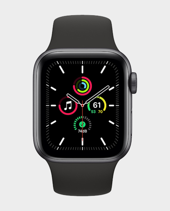 Apple Watch SE MYDP2AE/A GPS 40mm Space Gray Aluminum Case With Black Sport Band