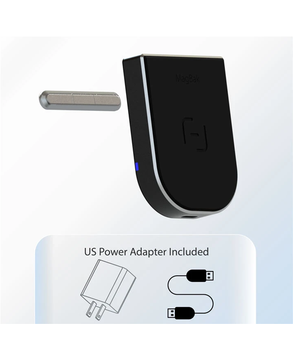 Magbak Wireless Charger 10W with Magstick and USB Type-C Cable