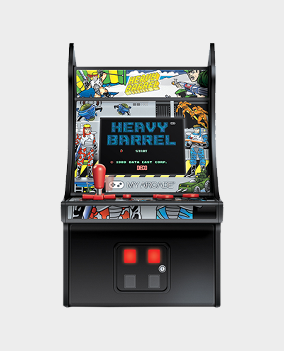 My Arcade DGUN-3205 2.75-inch Heavy Barrel Micro Player Multicolor in Qatar