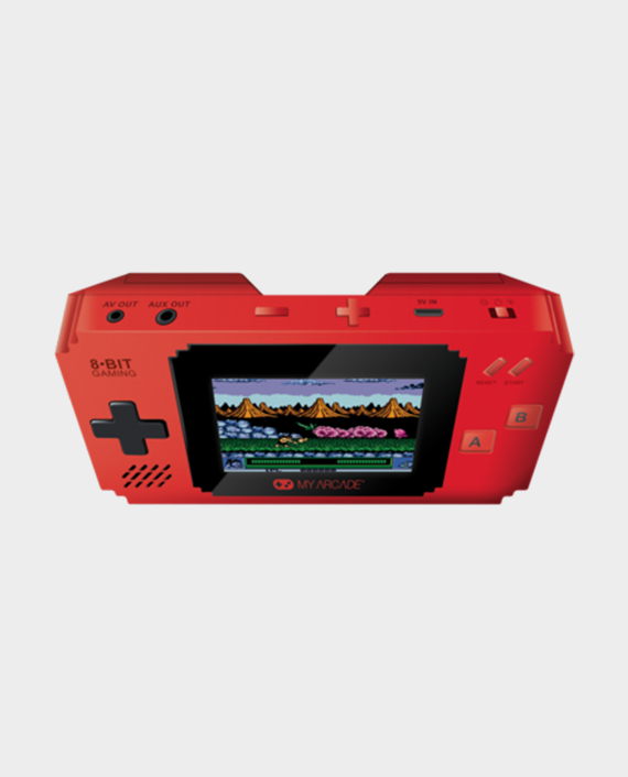 My Arcade Pixel Player DGUNL-3202 with 300 Games Red