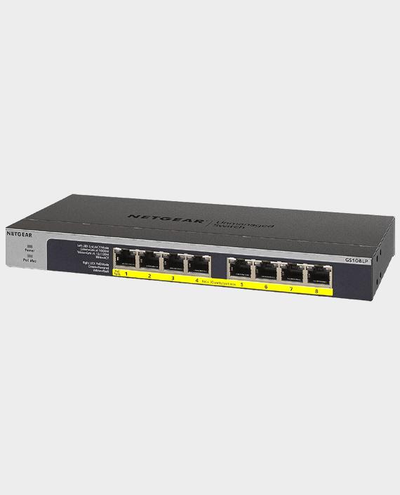 Netgear GS108LP-100EUS 8 Port Flex Unmanaged Networking Switch in Qatar