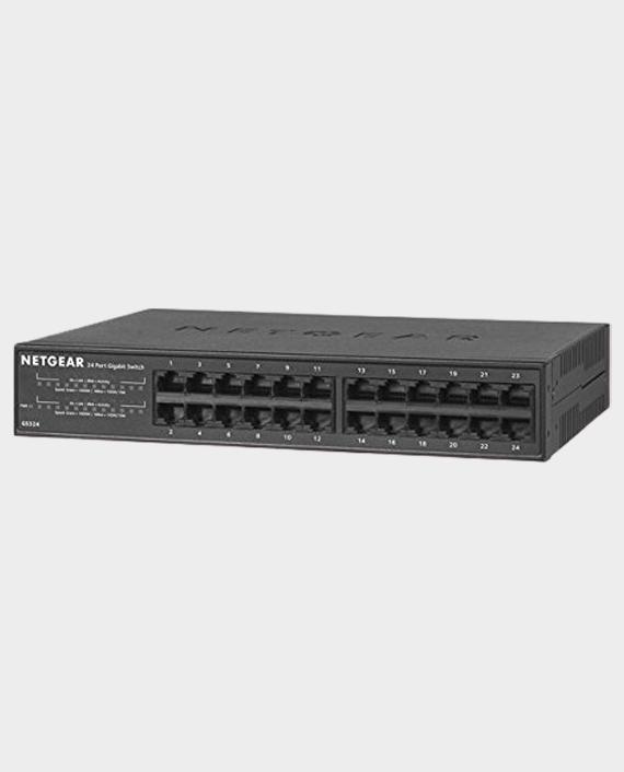 Netgear GS324-100EUS 24-Port Gigabit Networking Switch in Qatar