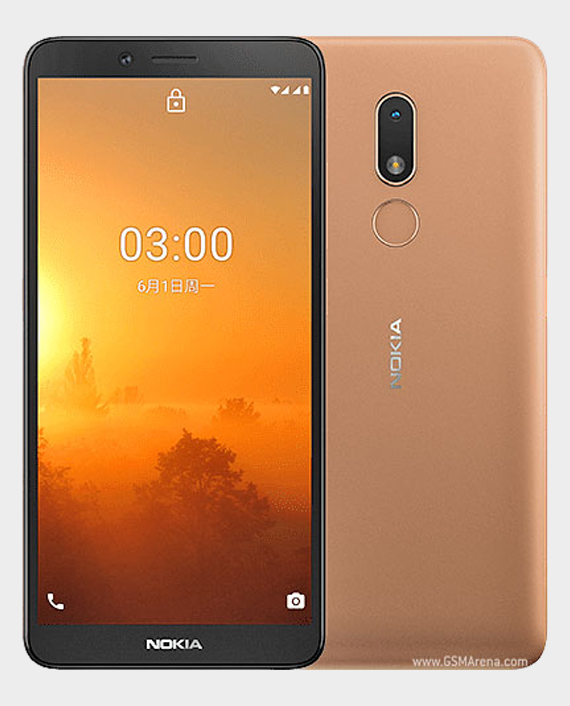 Nokia C3 2020 2GB 16GB Sand Gold in Qatar
