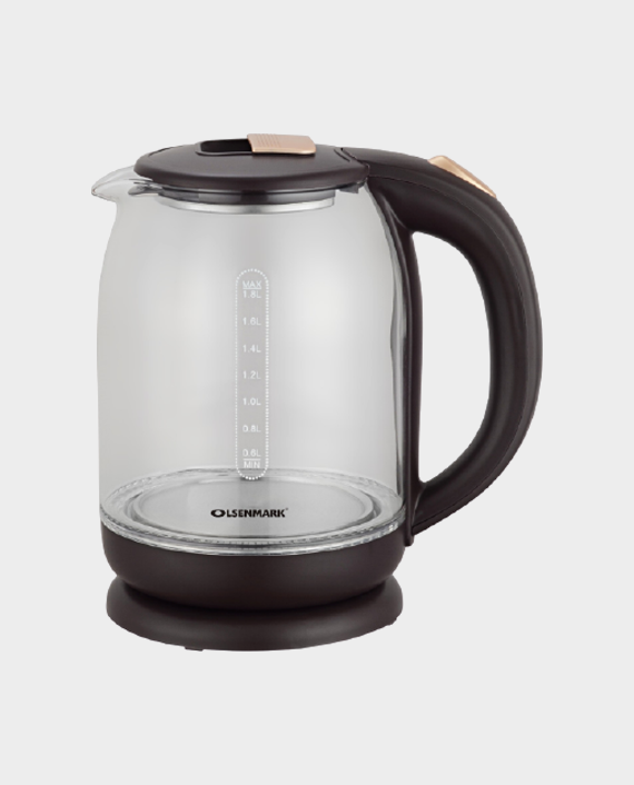 Olsenamrk OMK2394 1.8 Litre Glass Kettle in Qatar