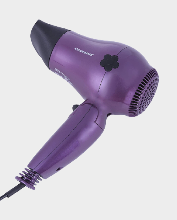 Olsenmark OMH4077 Travel Hair Dryer Violet in Qatar