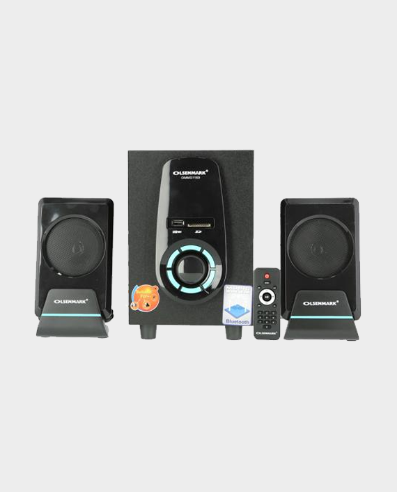 Olsenmark OMMS1169 2.1 Channel Multimedia Speaker with Remote Control in Qatar