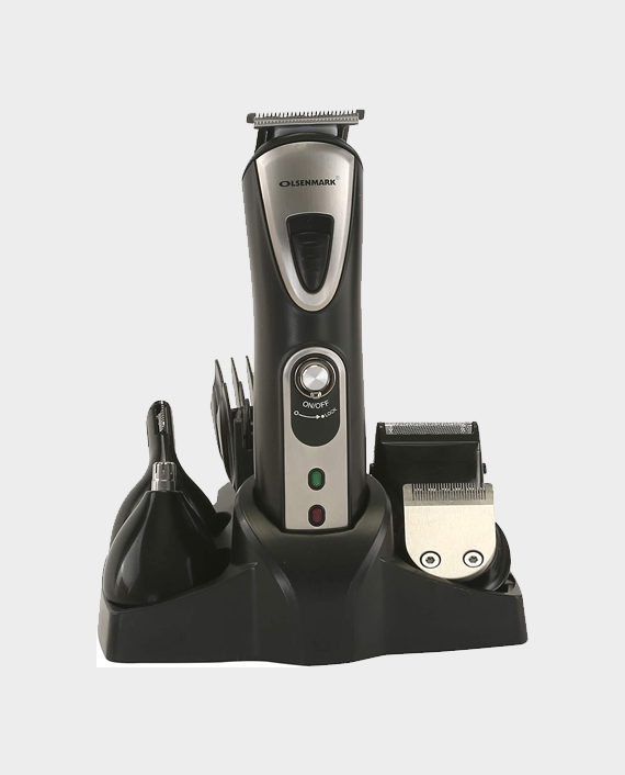 Olsenmark OMTR4037 10 in 1 Rechargeable Grooming Set in Qatar