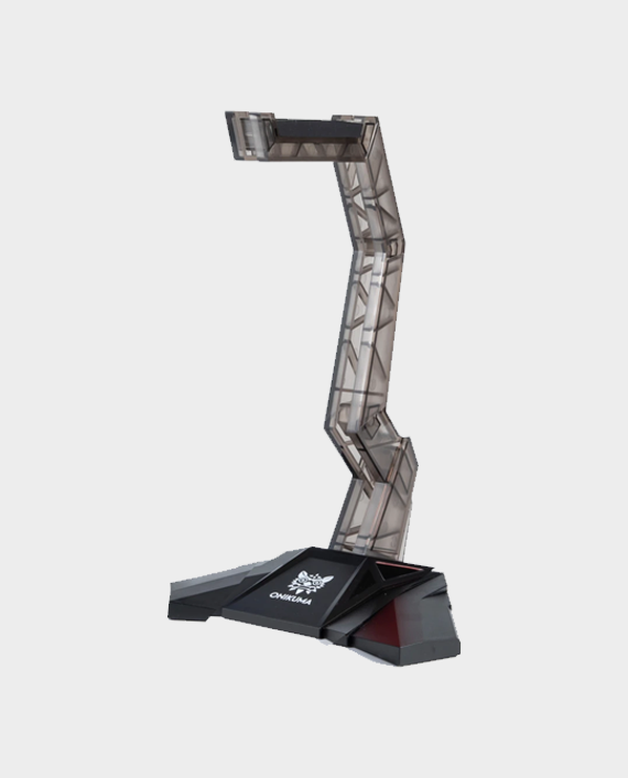 Onikuma Gaming Headset Stand Grey in Qatar