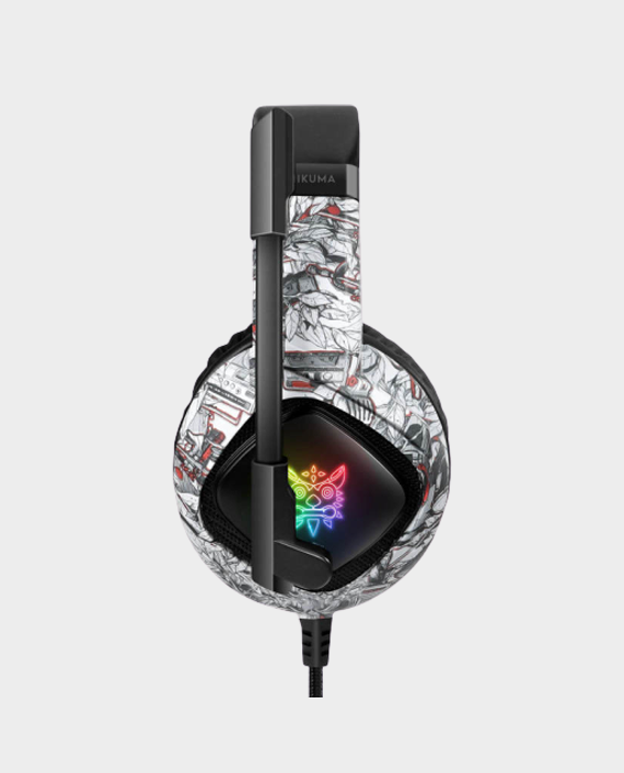 Onikuma K19 Professional Gaming Headset Camou White