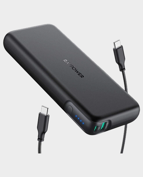RAVPower PD Pioneer 20000mAh 60W Portable Charger 2-Port Powerbank in Qatar