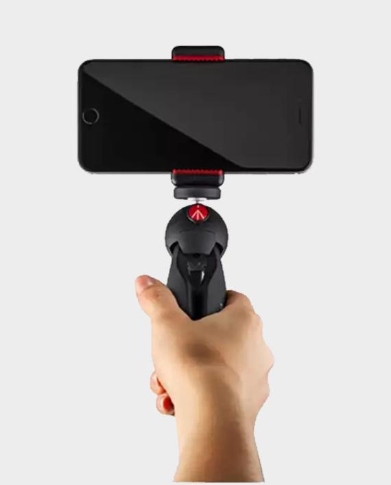 Manfrotto PIXI Smart Mini Tripod with Universal Smartphone Clamp