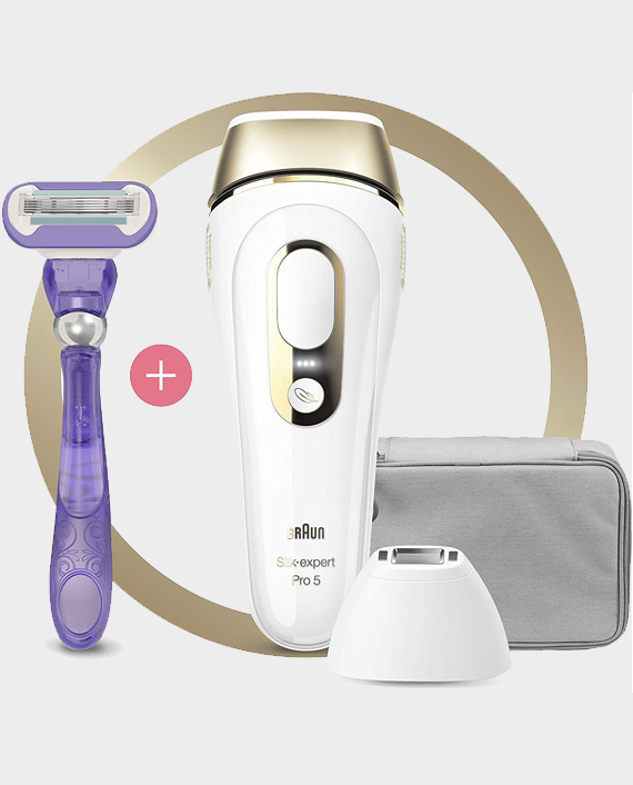 Braun IPL Silk Expert Pro 5 PL5117 Latest Generation Permanent Laser Hair Removal in Qatar