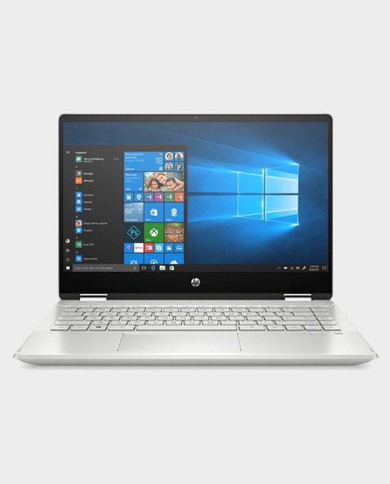 HP Laptop Pavilion x360 14-dh1025ne / Intel Core i3-10110U / 4GB Ram / 256GB SSD / Intel UHD Graphics / 14 Inch / Windows 10 / Silver in Qatar