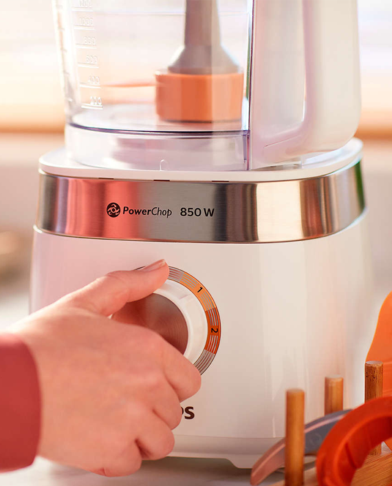 Philips Viva Collection HR7520/01 Compact Food Processor
