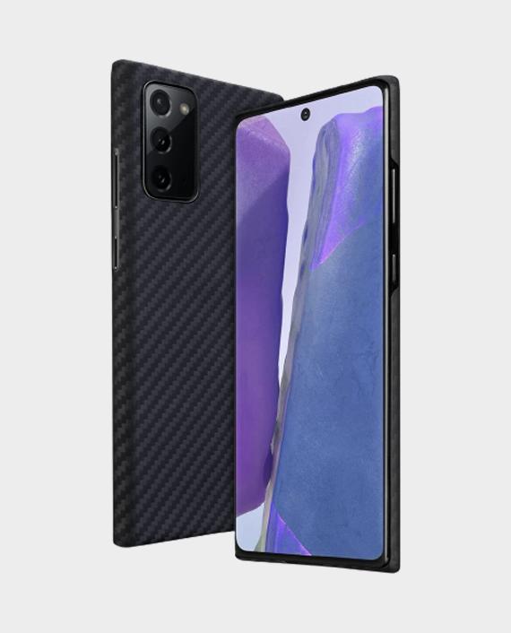 Pitaka MagEZ Case For Samsung Galaxy Note 20 Black Grey Twill