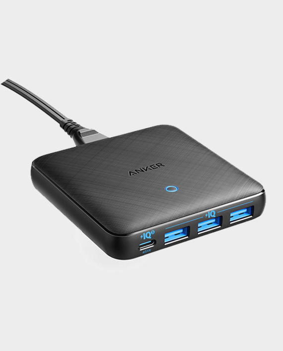 Anker PowerPort Atom III Slim Four Ports in Qatar