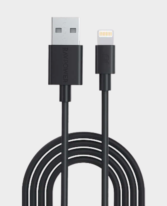 RAVPower 3 Pack USB Cable with Lightning Connector (2m / 1m / 0.2m) in Qatar